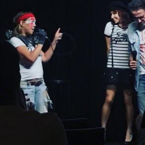 Pritch sings to Chloe copy